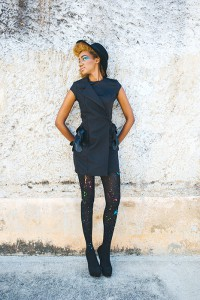"Paint the Town in Style with Color ""Let's Paint"" collection by fashion designer Delia Alleyne. www.DeliaAlleyne.com"