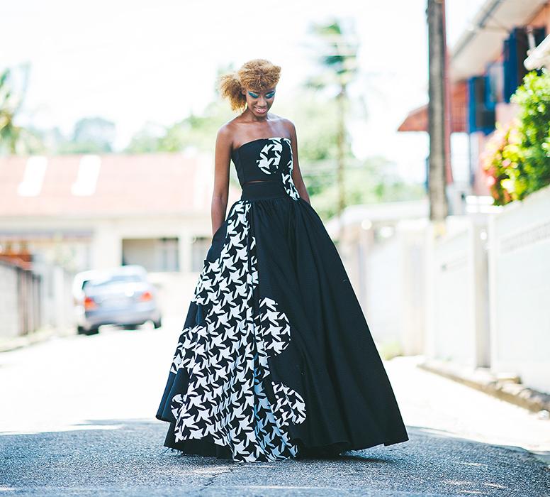 """""""Let's Paint"""" collection by fashion designer Delia Alleyne. www.DeliaAlleyne.com"""