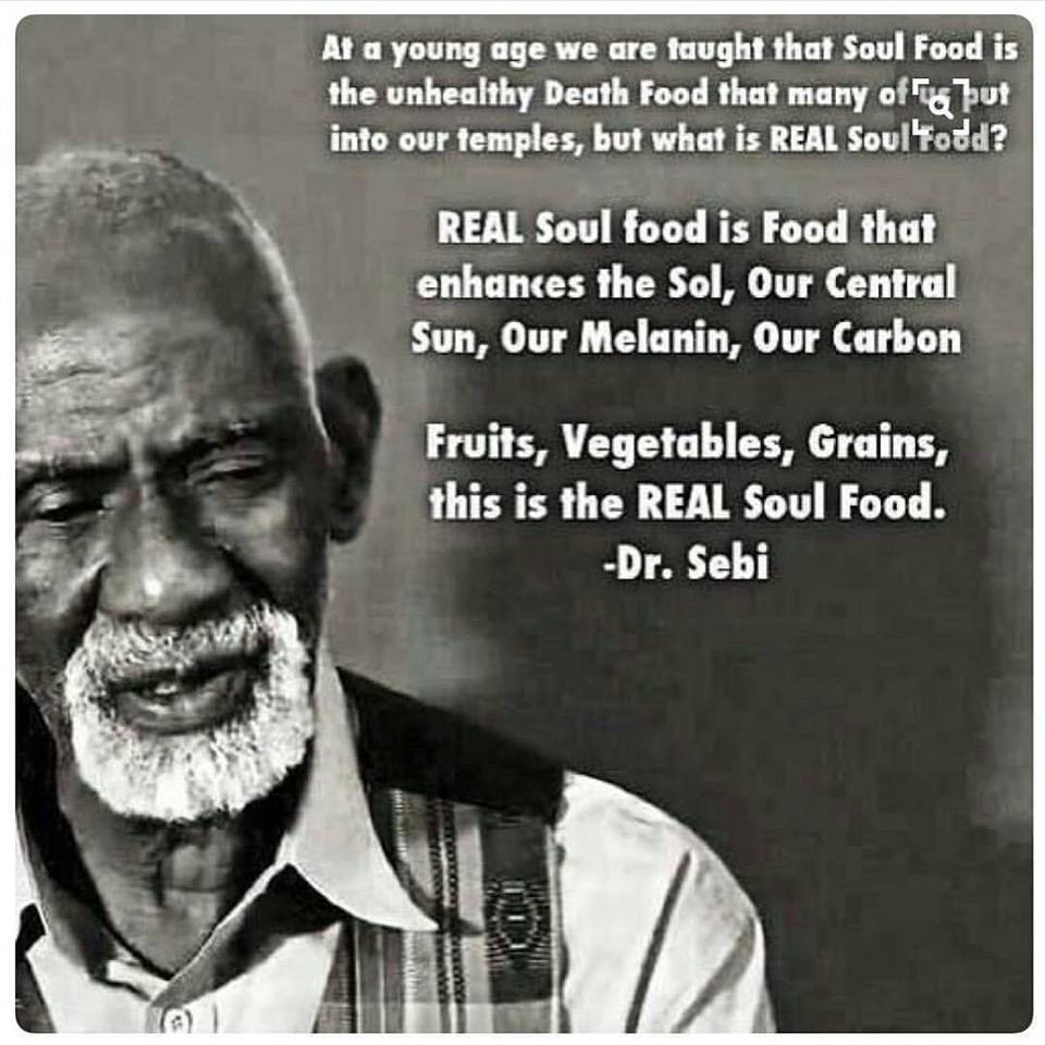 Dr  Sebi, His Nutritional Guide, & Why It's Been Shunned