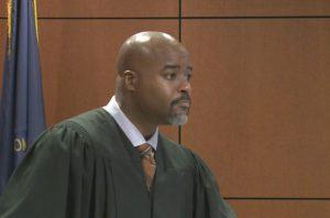 Black man judge