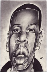 Jay Z by Myke Archie