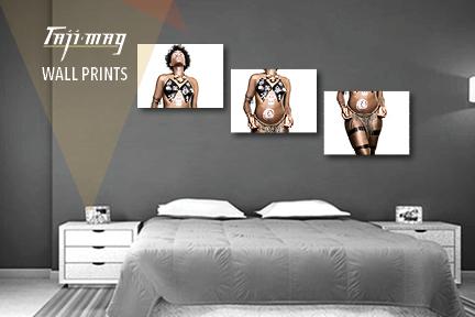 Taji Mag Wall Print