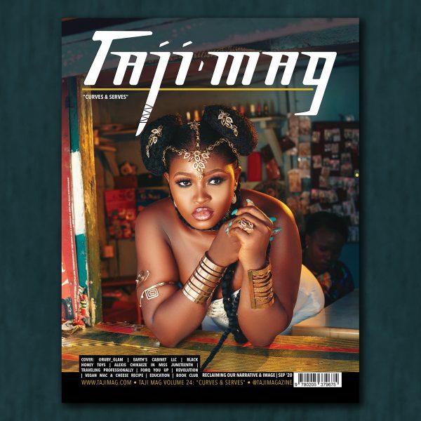 Taji Mag Vol 24 Curves & Serves